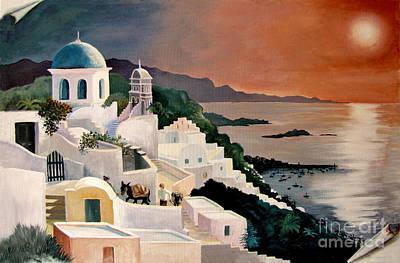 Greek Isles Print by Marilyn Smith