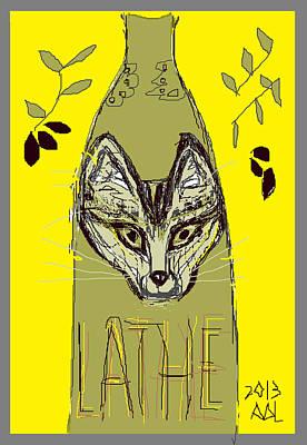 Greek Olive Print by Anita Dale Livaditis