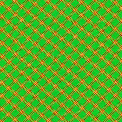 Green And Red Fabric Background Print by Keith Webber Jr