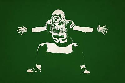 Green Bay Packers Shadow Player Print by Joe Hamilton