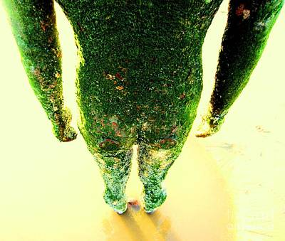 Instillation Photograph - Green by C Lythgo