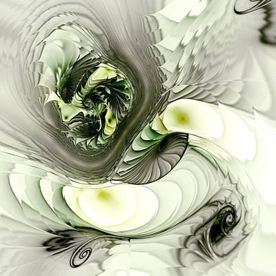 Green Dragon Print by Anastasiya Malakhova