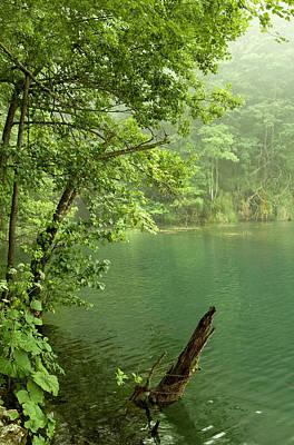 Water Photograph - Green Lake by Modern Art Prints
