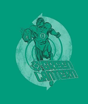 Halloween Digital Art - Green Lantern - Power by Brand A