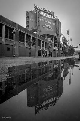 Fenway Park Photograph - Green Monster by Paul Treseler