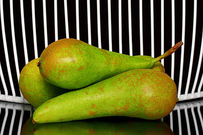 Green Pears  Original by Toppart Sweden