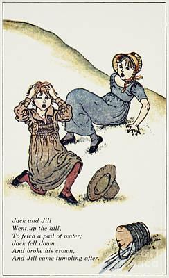 Nursery Rhyme Photograph - Greenway: Jack & Jill by Granger