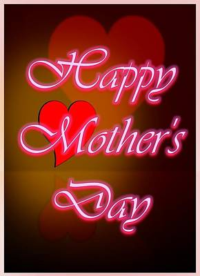 Digital Art - Greeting Card For Mothers 2 by Cyril Maza