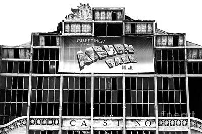 Greetings From Asbury Park Print by John Rizzuto