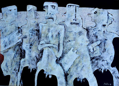 Black People Mixed Media - Grego No.4 by Mark M  Mellon