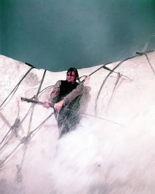 Moby Dick Photograph - Gregory Peck In Moby Dick  by Silver Screen