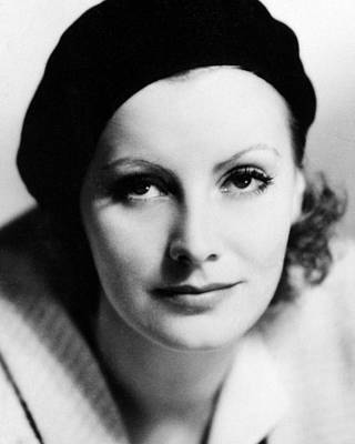 The Kiss Photograph - Greta Garbo In The Kiss  by Silver Screen