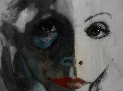 Greta Garbo Print by Paul Lovering