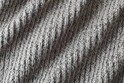 Wave Jumper Photograph - Grey Wool by Tom Gowanlock