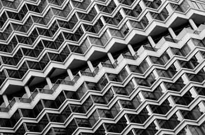 Grid Lines Print by Louis Dallara