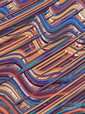 Gridlock Digital Art - Gridlock by John Edwards