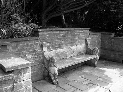 Griffin Bench Print by Katie Beougher