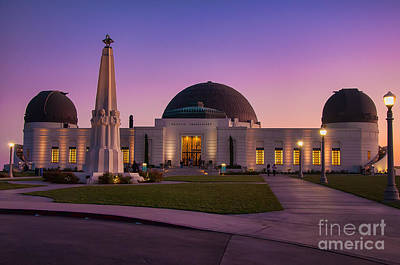 Griffith Observatory Print by Eddie Yerkish