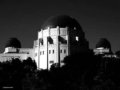 Griffith Observatory Print by James Markey
