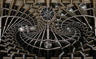 Black Top Digital Art - Grill Works 2 by Ron Bissett