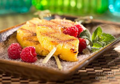 Grilled Pineapple  Print by Iris Richardson