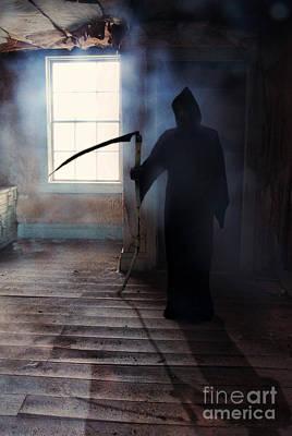 Grim Reaper Print by Jill Battaglia