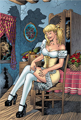 Comic Books Drawing - Grimm Fairy Tales 09 by Zenescope Entertainment