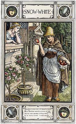 Grimm Snow White, C1886 Print by Granger