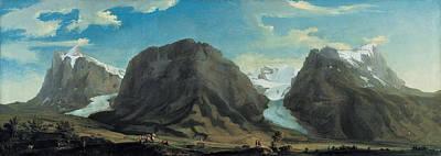 Caspar Painting - Grindelwald by Caspar Wolf