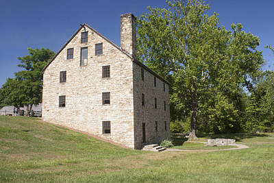 George Washington Photograph - Gristmill @ Mount Vernon by Jason Huffman