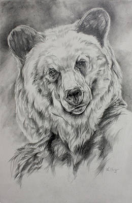 Grizzly Print by Derrick Higgins
