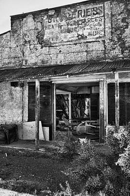 Abandoned Photograph - Groceries by Hugh Smith
