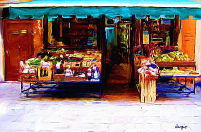 Waterscape Painting - Grocery Store by Sergio B