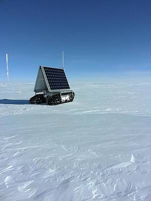 Harsh Conditions Photograph - Grover Rover Testing by Lora Koenig/nasa Goddard
