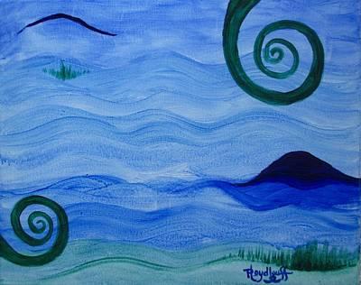 Spiritual Art Painting - Growth by Pat Heydlauff