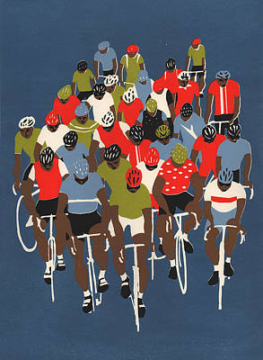 Gruppetto Print by Eliza Southwood