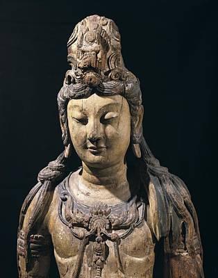 Guan Yin. 10th C. - 13th C. Bodhisattva Print by Everett