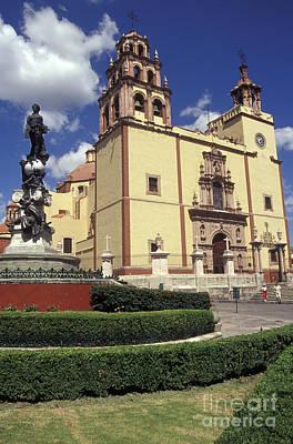 Mexico Photograph - Guanajuato Basilica Mexico by John  Mitchell