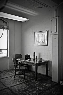 Guard Dining Area In Alcatraz Prison Print by RicardMN Photography