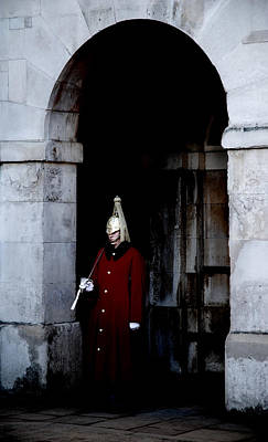 Cavalry Photograph - Guard Duty by Mark Rogan