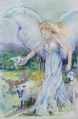 Guardian Angel Original by Joose Hadley