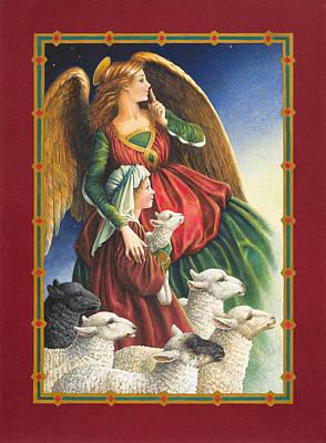 Guardian Angel Print by Lynn Bywaters
