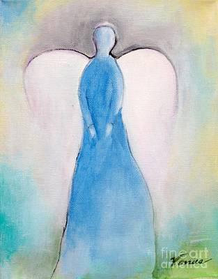 Painting - Guardian Angel by Venus