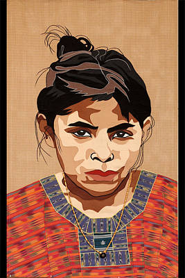 Guatemalan Girl Original by Patt Tiemeier