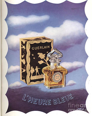 Nineteen-thirties Drawing - Guerlain 1930s Usa by The Advertising Archives