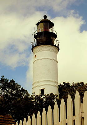 Guiding Light Of Key West Print by Karen Wiles
