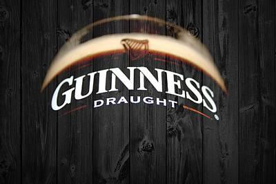 Beer Mixed Media - Guinness by Dan Sproul