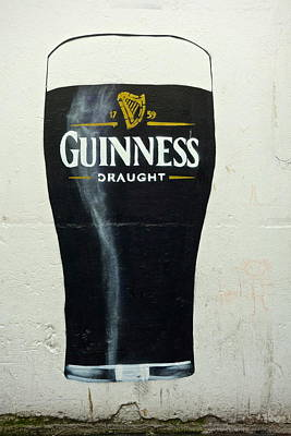 Beer Photograph - Guinness - The Perfect Pint by Charlie Brock