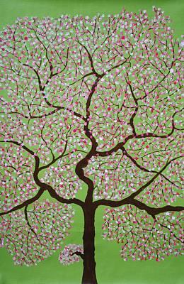 Tree Painting - Gulbhargava by Sumit Mehndiratta