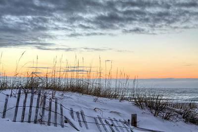 Gulf Coast Dunes Print by JC Findley